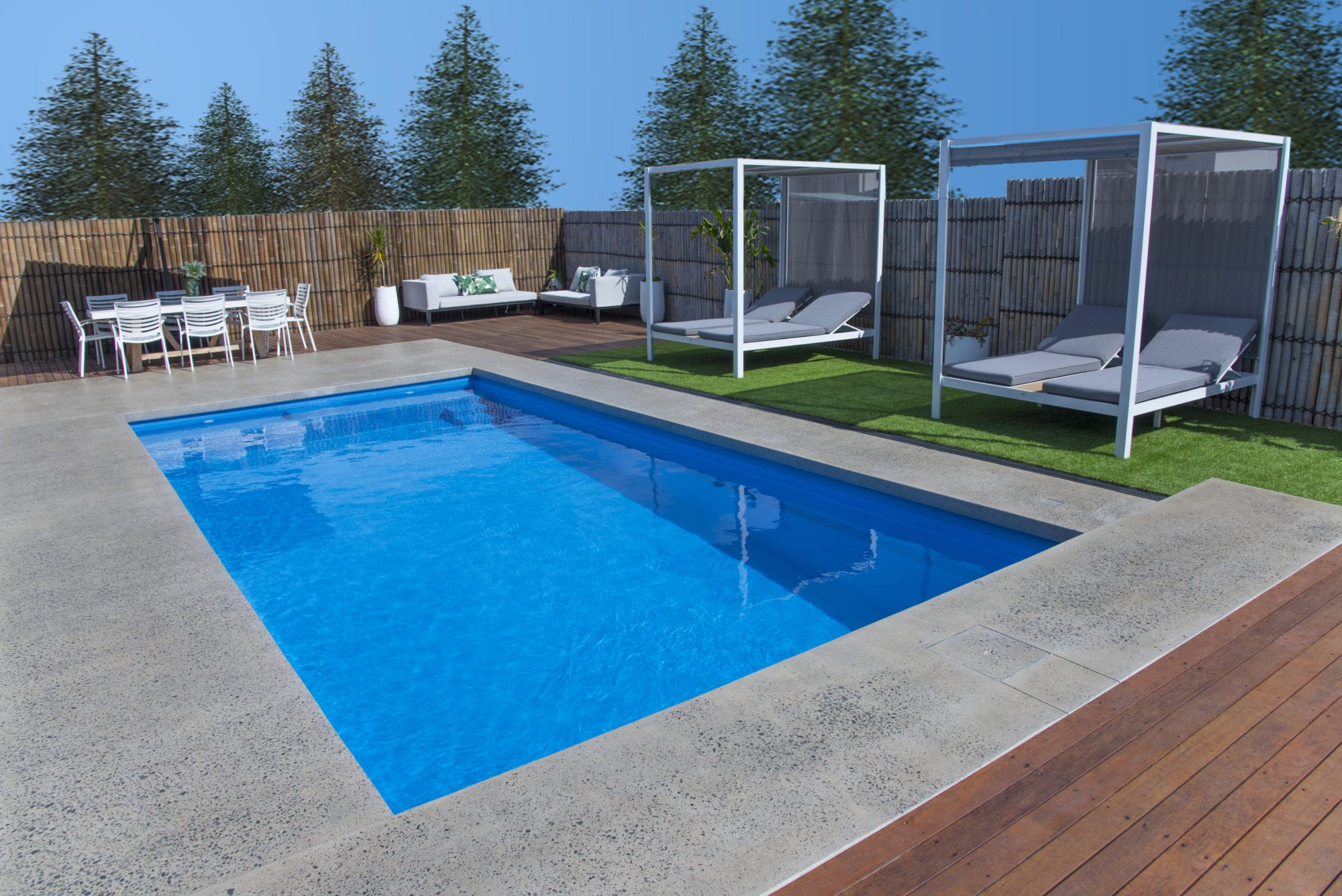 Entertainer Pool design by Port Pools by Design