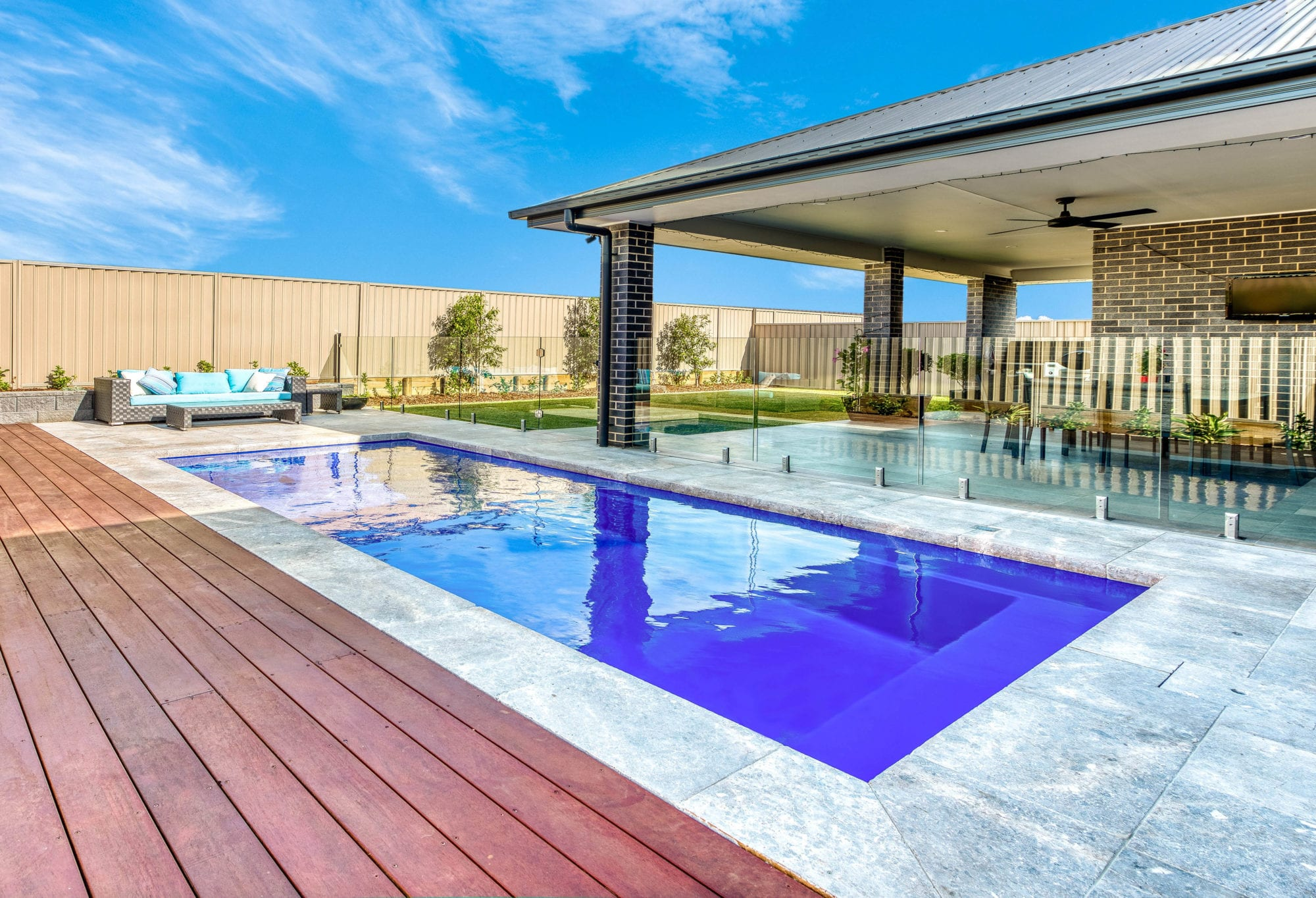 Avanti Pool design by Port Pools by Design