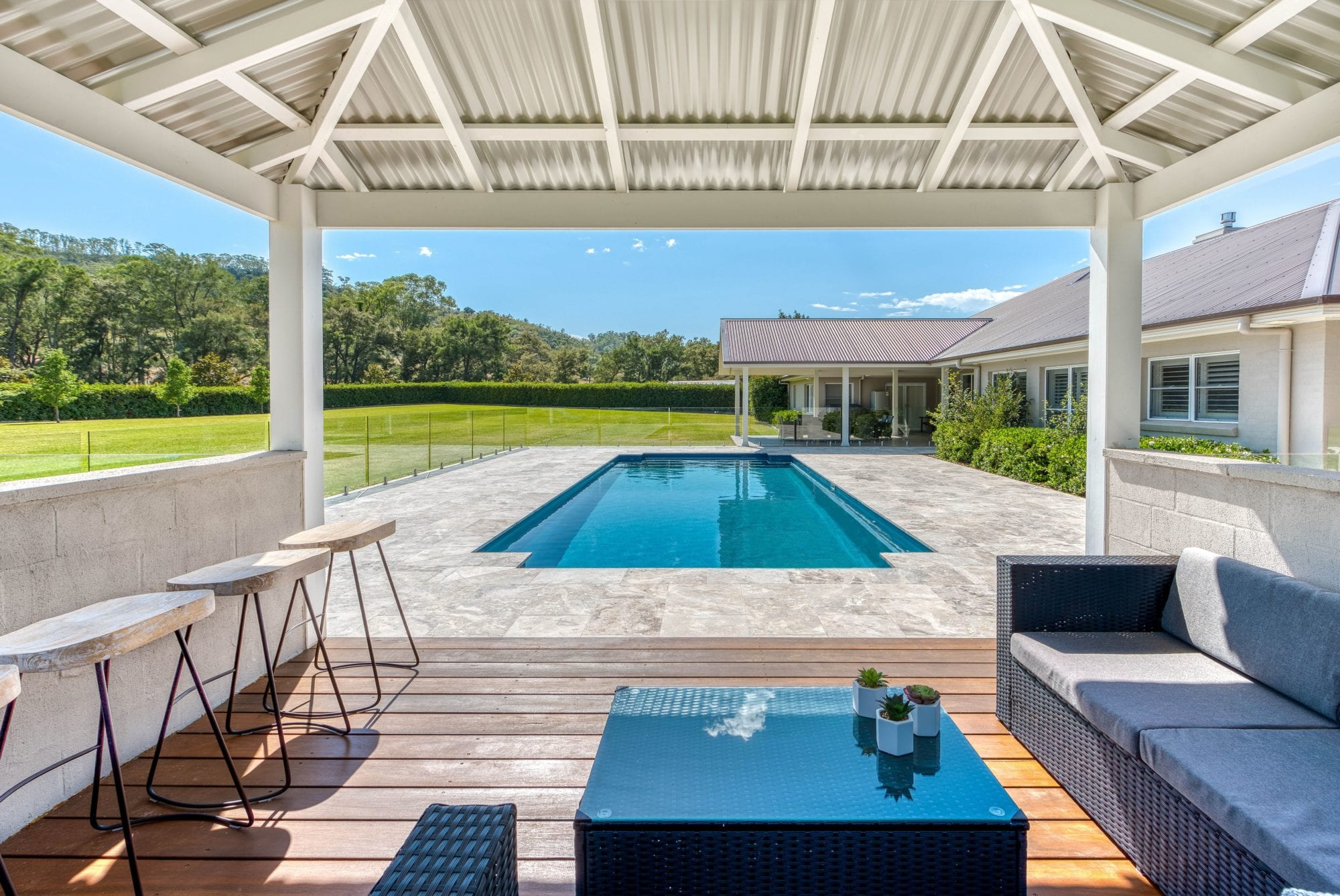 Classic Pool design by Port Pools by Design