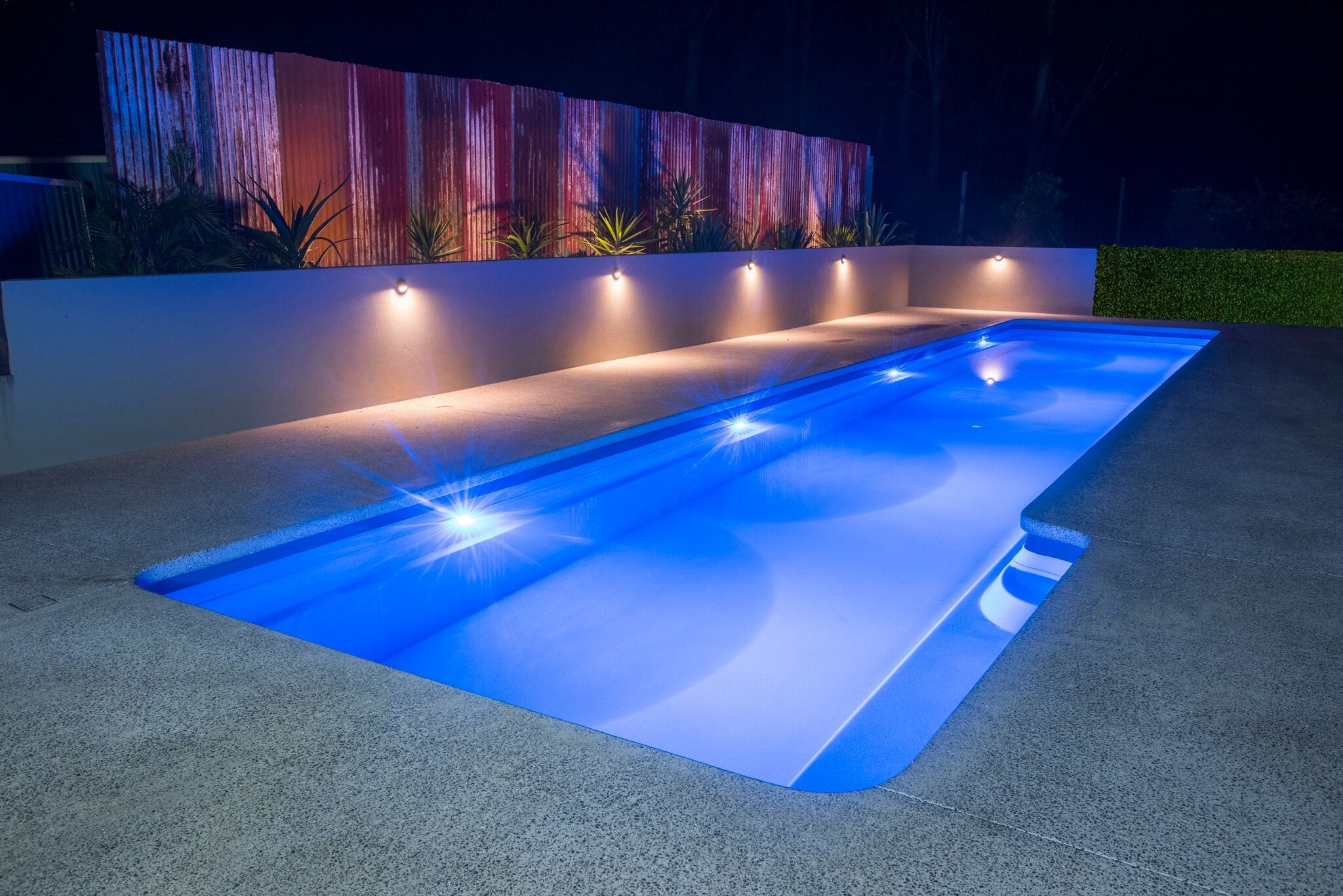 Lap pool design by Port Pools by Design